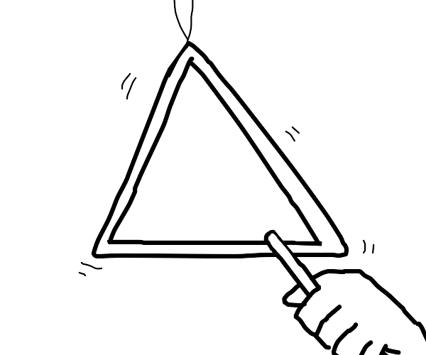 A triangle (instrument)