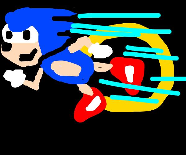 sonic's gotta go speed