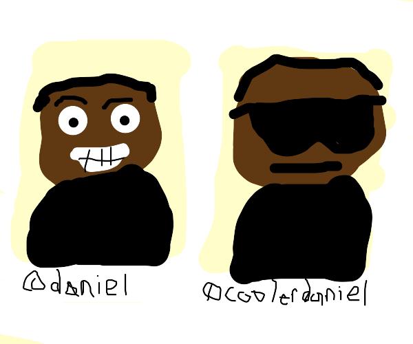 the daniel and cooler daniel of social media