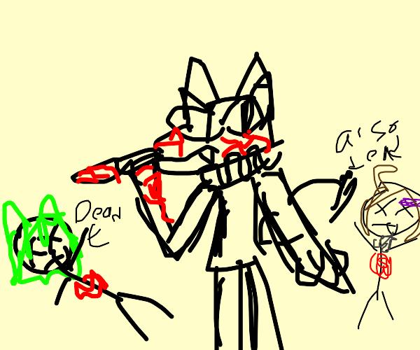 homicidal furry