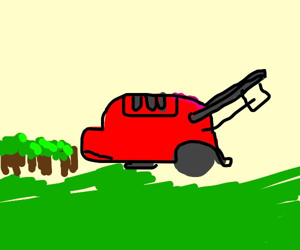 Gigantic lawnmower