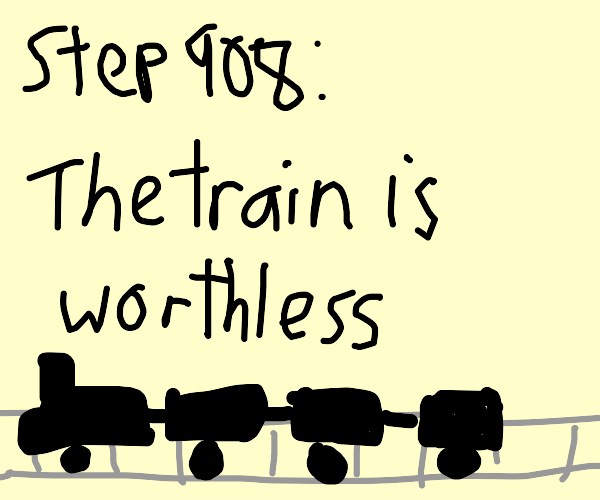 Step 907: Rob the train, wild west style