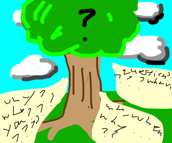 tree of many questions