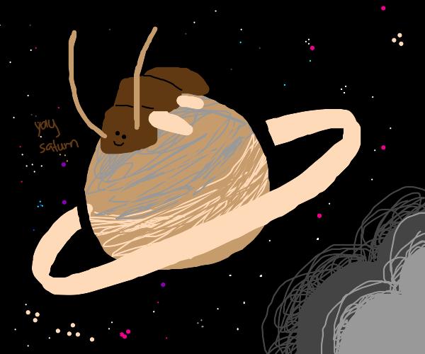 Centipede on Saturn