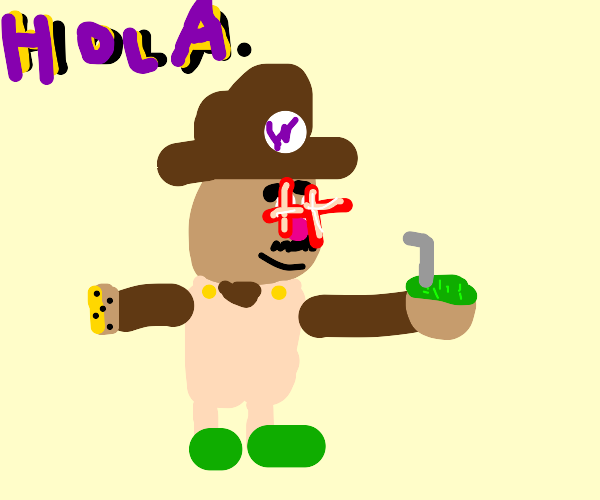 Wario is a Latino now