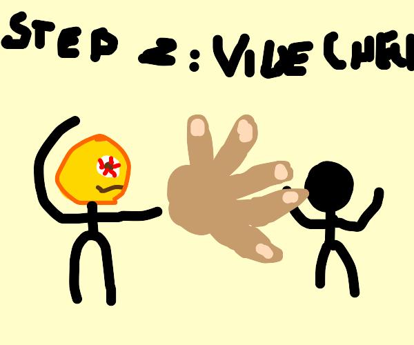Step one: Yeet