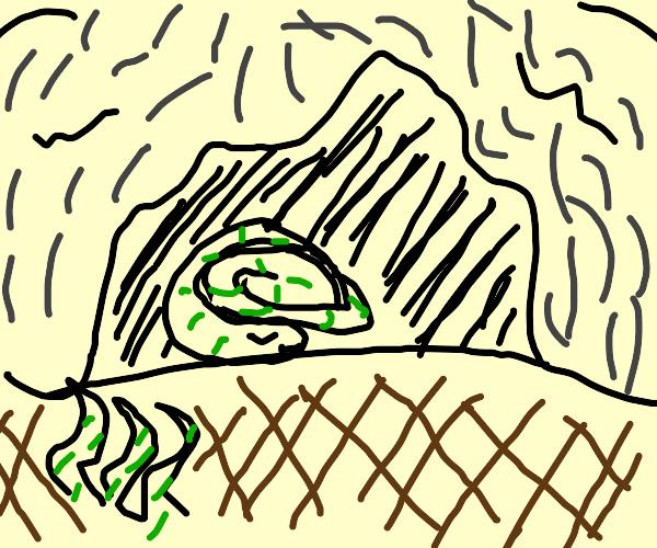 Sleeping Eel