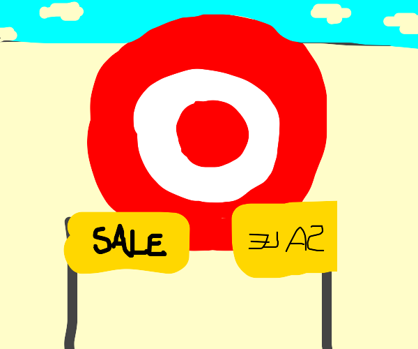 Target (the store) has a sale