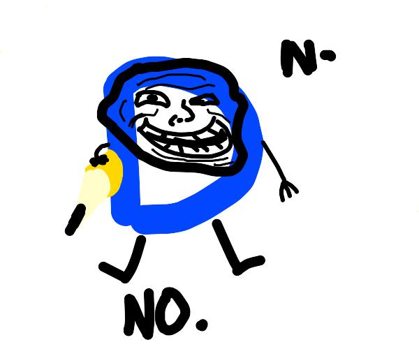"drawception logo saying the ""new n-word"""