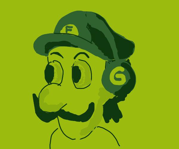 """Luigi the """"Gaem Mahn"""""""