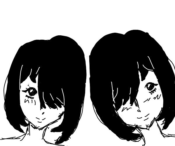 Anime Siamese twins