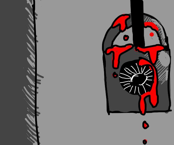 bloody lock