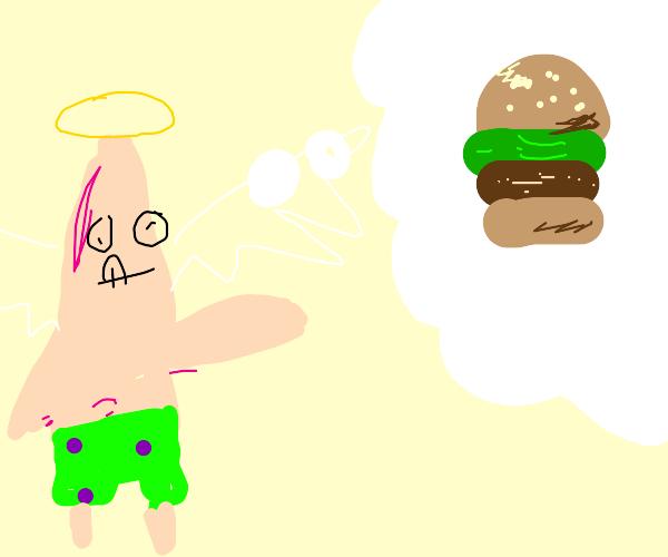 Angel Patrivck wants a Krabby Patty