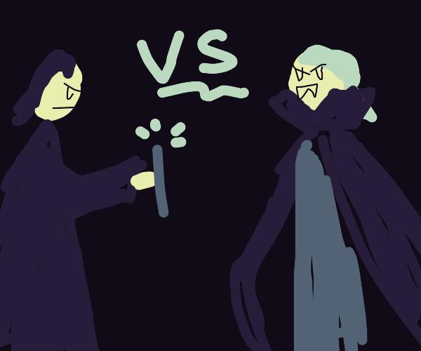 Severus Snape vs Dracula