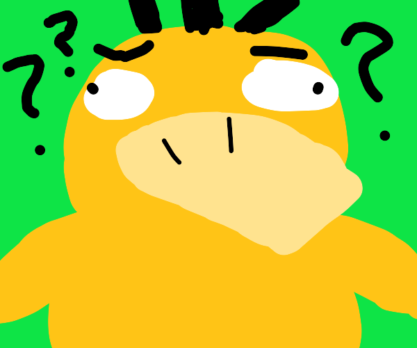 Psyduck is confused