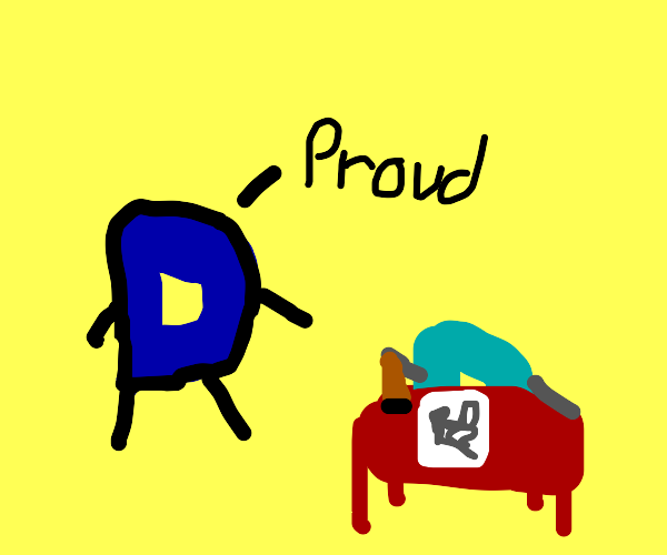 Drawception is proud of his son