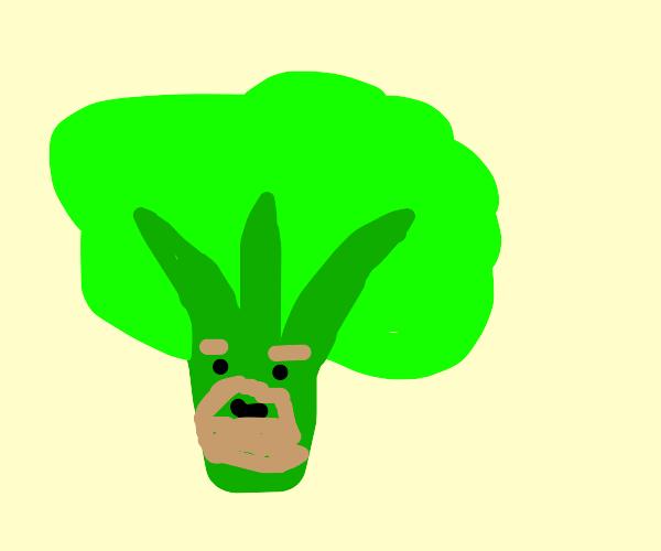 Broccoli beard