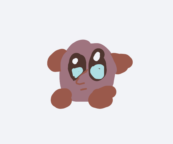 kirby with nose
