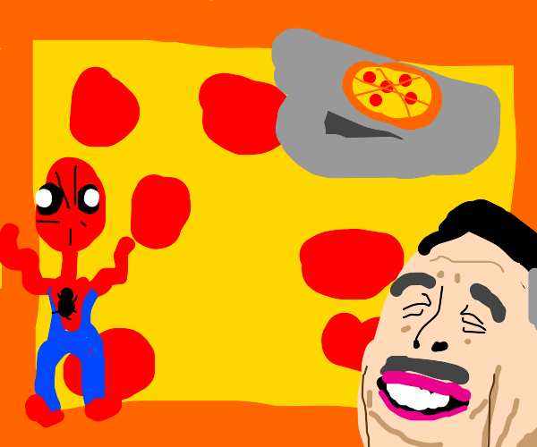 According to Spidey, it's Pizza Time!