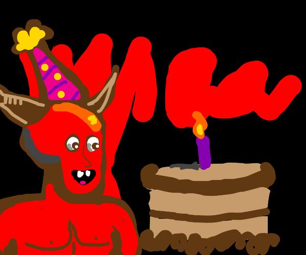Satan's birthday