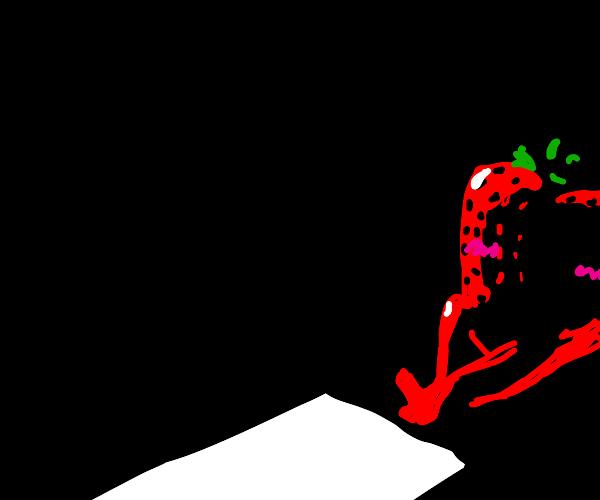 strawberry lustful in the dark