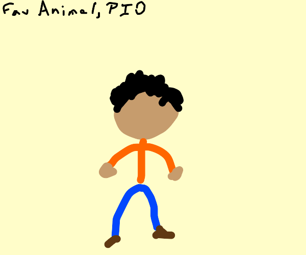 Favorite animaL (pio)