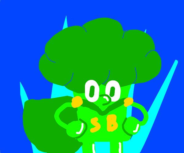 it's broccoli man!