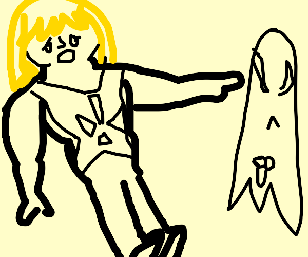 He-man is shocked by a ghost