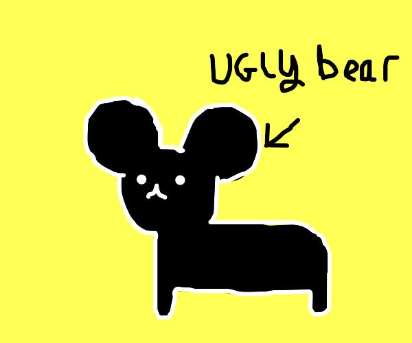 Calling a bear ugly