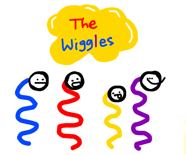 lots of colourful wiggles: The wiggles