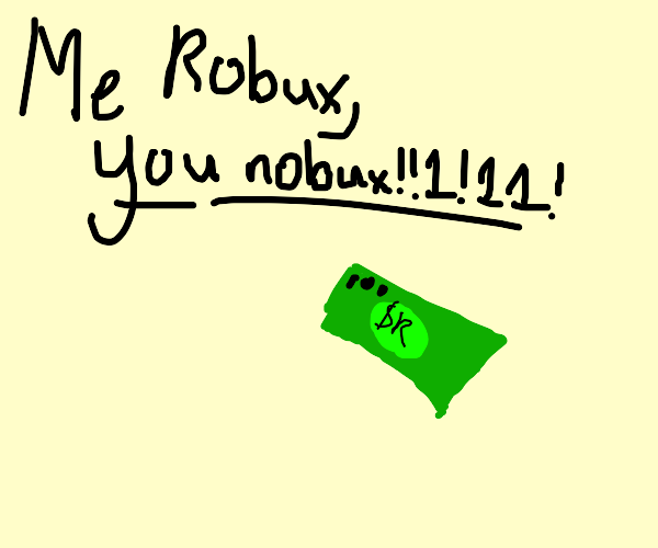 OOF I HAVE SO MANY ROBUX