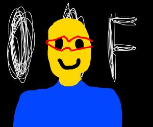 Roblox secretary with glasses