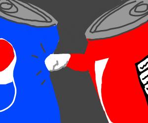 coca-cola can vs pepsi can
