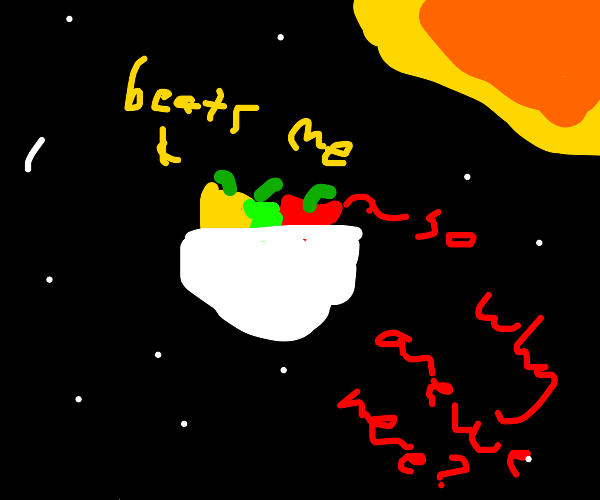 Pot of Chili in Space