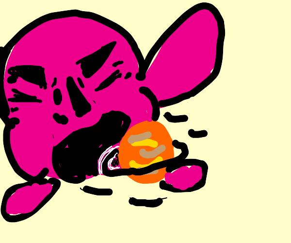Manly Kirby Inhales Jupiter