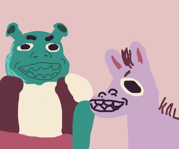 Shrek and DAHNKAY