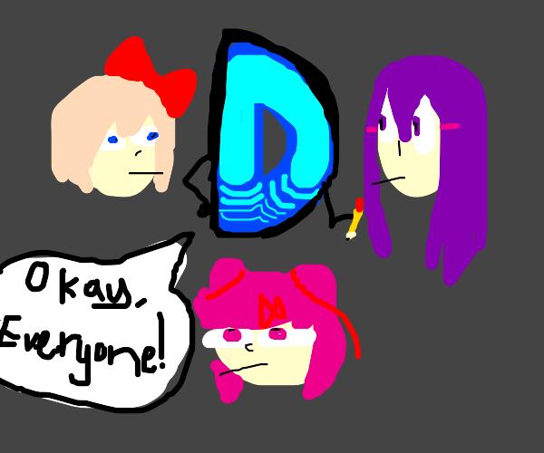 Drawception-Drawception literature club!
