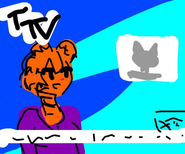 Tiger news anchor