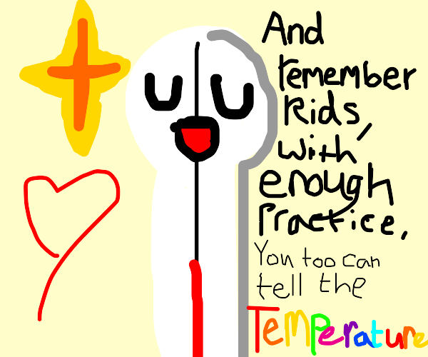 Inspirational Thermometer