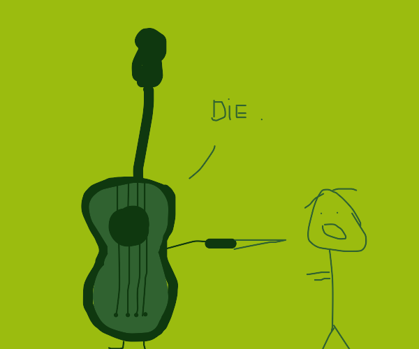 string instrument wants to stab someone