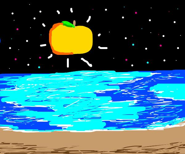 golden apple to the sun