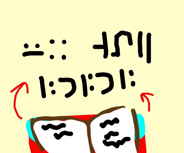 Mincraft enchanting table language