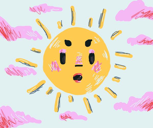 sun does it'smakeup