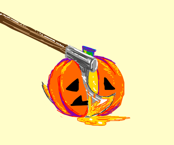 Pumpkin getting slaughtered