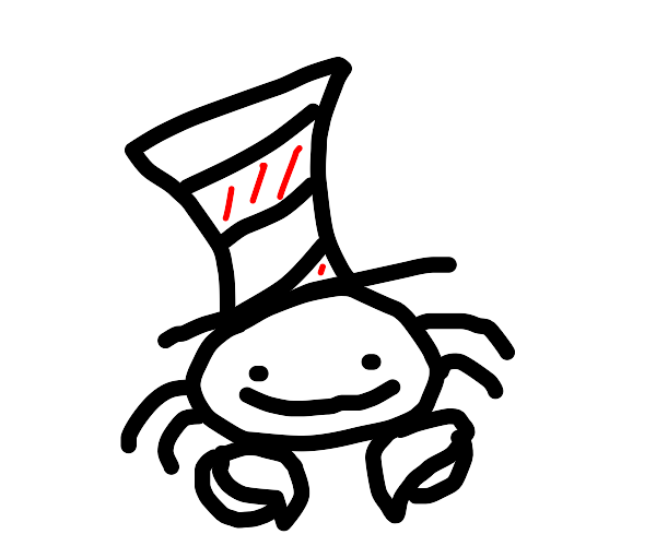 The -C-a-t- Crab in the Hat