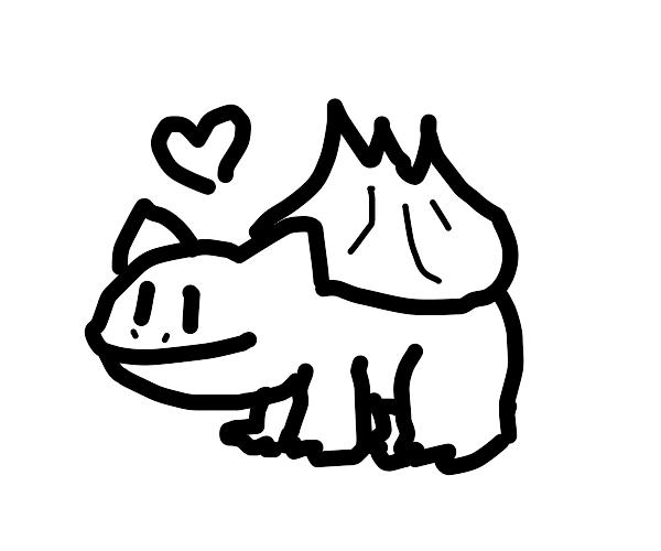 Bulbasaur loves you!