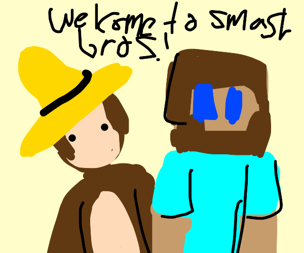 curious george in smash with MCsteve