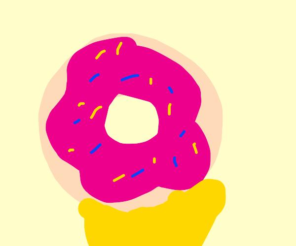 Homer Simpson's donut