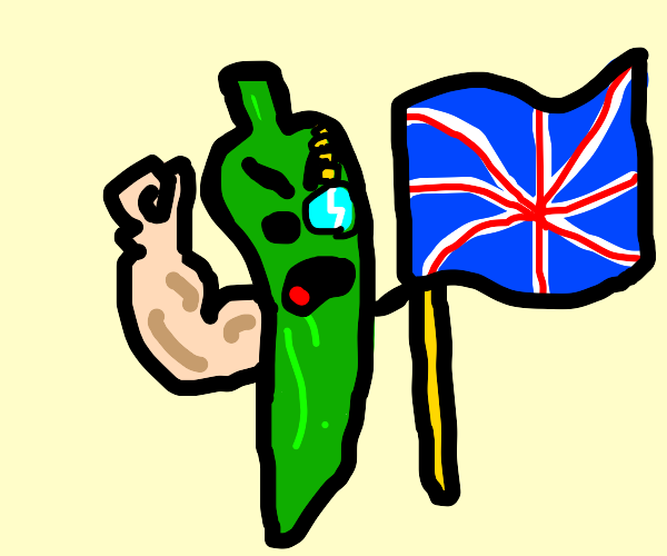 British Jalapeño is angry at you