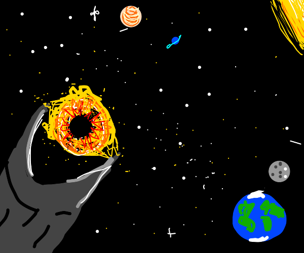 the eye of sauron in space